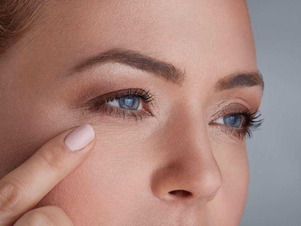 botoks pod oczy